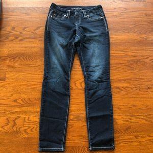 Maurice's Dark Wash Skinny Jeans